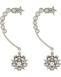 Oscar de la Renta | Metallic Crystal Star Ear Cuff - For Women | Lyst