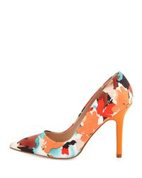 Charles by Charles David | Orange Sweetness Floral Pointed-toe Pump | Lyst
