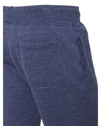 Todd Snyder - Blue Techno Cotton Jersey Sweat Shorts for Men - Lyst