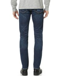 Rag & Bone - Blue Standard Issue Fit 2 Jeans for Men - Lyst