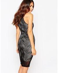 Lipstick Boutique - Black Minnie Bodycon Dress - Lyst