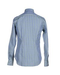 Gabriele Pasini - Green Shirt for Men - Lyst