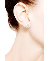 Dana Rebecca - Metallic Lauren Joy Medium Earrings in 14k White Gold - Lyst