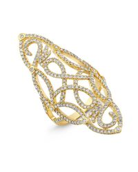 Anne Sisteron | 14kt Yellow Gold Diamond Taylor Ring | Lyst