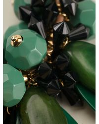 Marni - Green Faceted Pendant Necklace - Lyst