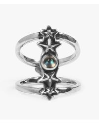 Pamela Love | Metallic Ursa Major Ring | Lyst