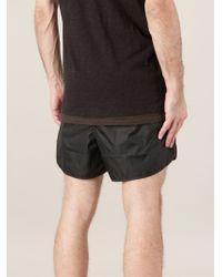 Neil Barrett - Black Swim Shorts for Men - Lyst