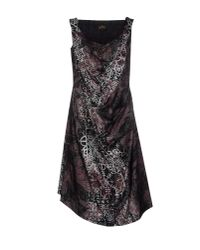 Vivienne Westwood Anglomania - Black Knee-length Dress - Lyst
