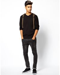 Quiksilver - Black Sweater for Men - Lyst