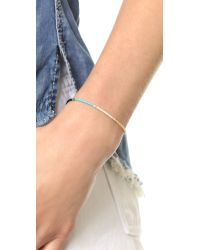 Shashi - Sam Bracelet - Orange Multi - Lyst