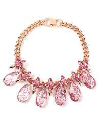 Mawi - Pink Linked Gemstone Bracelet - Lyst
