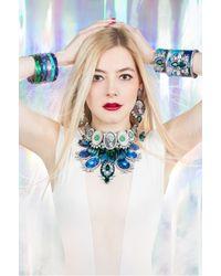 Bijoux De Famille - Green Crazy Dollar Choker Necklace - Lyst