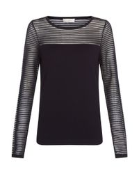 Hobbs   Blue Livia Sweater   Lyst