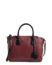 MICHAEL Michael Kors | Black 'medium Campbell' Satchel | Lyst