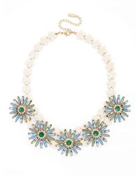 BaubleBar | Blue Flower Power Collar | Lyst