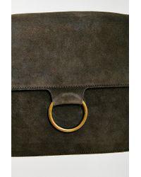 Kimchi Blue | Gray Ring Shoulder Messenger Bag | Lyst