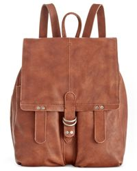 Lucky Brand | Brown Dempsey Backpack | Lyst