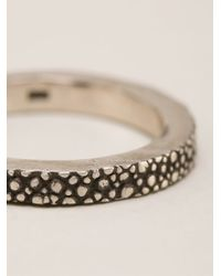 Henson | Metallic Stacker Ring | Lyst