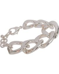 Kenneth Jay Lane - Metallic Oversize Curb Link Bracelet - Lyst