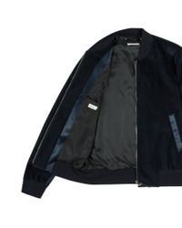 Paul Smith | Blue Velvet Bomber Jacket for Men | Lyst
