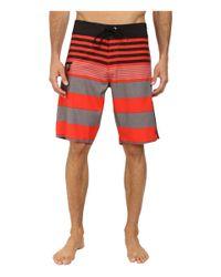 """Volcom - Red Lido Tito 21"""" Boardshort for Men - Lyst"""