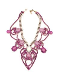 Doloris Petunia | Purple Louisville Necklace, Ombre Pink | Lyst