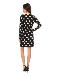 Kamalikulture | Black Long Sleeve Easy Dress | Lyst
