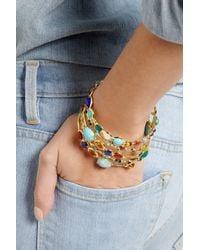 Ippolita | Blue Gelato 18-Karat Gold Multi-Stone Bracelet | Lyst