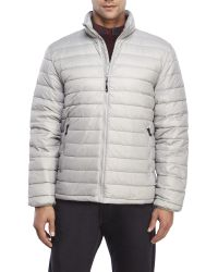 Weatherproof | Gray Packable Ultra Light Down Jacket for Men | Lyst