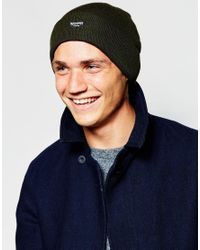 ASOS - Natural Thinsulate Beanie In Khaki for Men - Lyst