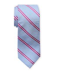 Ben Sherman - Blue Brave Stripe Silk Tie for Men - Lyst