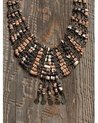 Free People - Multicolor Womens Vintage Beaded Fringe Necklace - Lyst