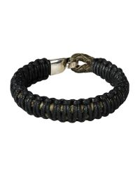 Miansai - Black Bracelet - Lyst