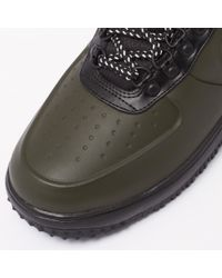 Nike Black Lunar Force 1 Duckboot Low - Sequoia for men