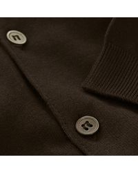 John Smedley - Adrian Ss Brown Polo Shirt P30 for Men - Lyst