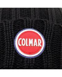 Colmar - Colmar Ribbed Black Pull On Beanie 5096 8Lo 99 for Men - Lyst
