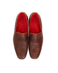 Jeffery West - Brown Kenda Tan Leather Shoes for Men - Lyst
