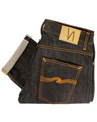 Nudie Jeans | Multicolor Grim Tim Org Dry Selvage Jeans Sku111205 for Men | Lyst
