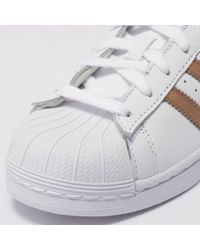 Adidas S Superstar White Leather Trainers 5.5 Uk