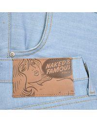 Naked & Famous - Naked And Famous Skinny Guy Sky Blue Denim Jeans for Men - Lyst