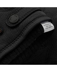 Norse Projects - Norse X Hestra Utsjo Black Gloves for Men - Lyst
