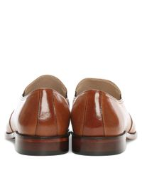 Daniel | Brown Henstridge Tan Leather Plain Loafer for Men | Lyst
