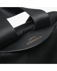 Anya Hindmarch Chubby Wink Black Nylon Backpack