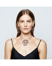 DANNIJO | Metallic Corona Necklace | Lyst