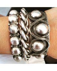 DANNIJO - Metallic Ball & Chain Arm Party - Lyst