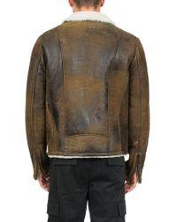 Salvatore Santoro - Multicolor Leather Jacket for Men - Lyst