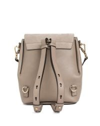Chloé Multicolor Small Faye Backpack
