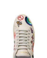 Paul Smith - Multicolor Embroidered Sneakers - Lyst