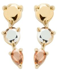 kate spade new york | White Ear Pins | Lyst