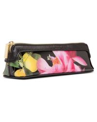 Ted Baker - Pink Kelsee Citrus Bloom Pencil Case - Lyst